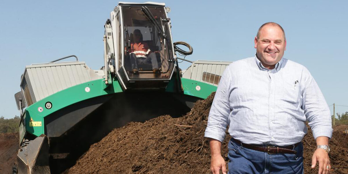 NuGrow transforming waste into nutrient rich and valuable compost and soil