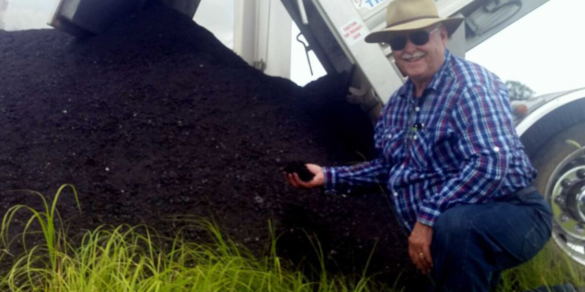 Organic Compost Trial A Success At Raglan Station In Central Queensland