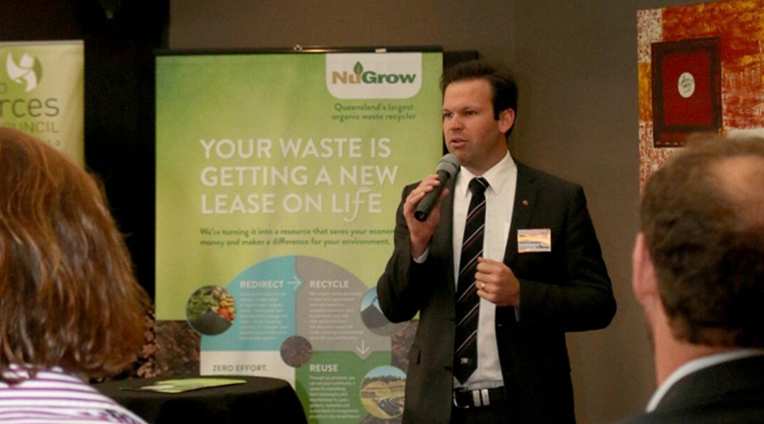 Senator Matthew Canavan and NuGrow take the stage for Queensland Resources Council